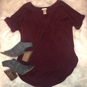 Comfortable T-shirt Style Top